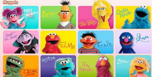 【原创】志萍版老友记英语笔记之文化关键词:1. Muppet 布偶