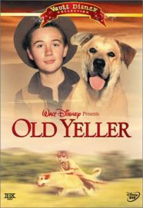 3. 老黄狗(Old Yeller)