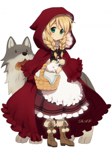 MDF-518-2.Little Red Riding Hood